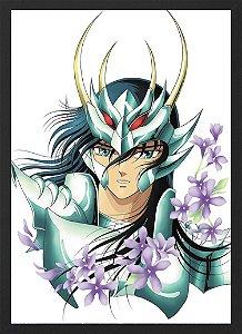 Quadro Shiryu Cavaleiros do Zodíaco