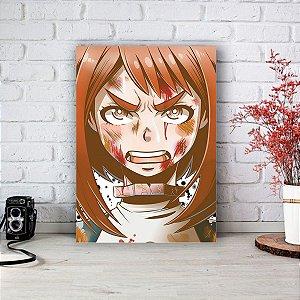 Quadro/Placa Decorativa Uraraka Boku no Hero Academia