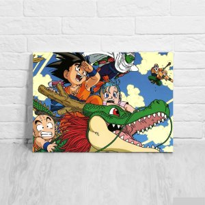 Quadro/Placa Decorativa Dragon Ball