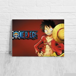 Quadro/Placa Decorativa Monkey D. Luffy One Piece