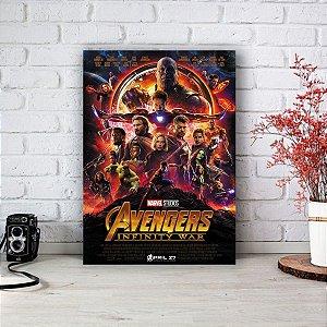 Placa Decorativa Avengers - Vingadores