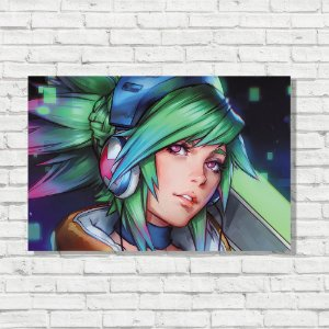 Placa Decorativa Riven