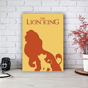 Placa Decorativa Simba - O Rei Leão