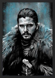 QUADRO JON SNOW - GAME OF THRONES