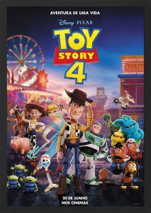 Quadro Poster Toy Story 4