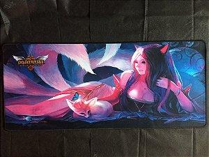 Mousepad Gamer Ahri (30X80cm) - League of Legends