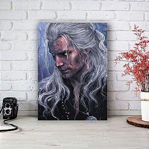 Quadro/Placa Decorativa Geralt (Henry Cavill) - The Witcher