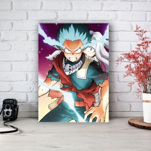 Quadro/Placa Decorativa Midoriya e Eri - Boku no Hero