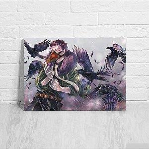 Quadro/Placa Decorativa Overhaul - Boku no Hero