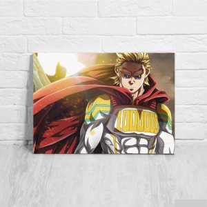 Quadro/Placa Decorativa Lemillion - Boku no Hero