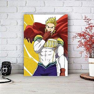 Quadro/Placa Decorativa Mirio Togata (Lemillion) - Boku no Hero