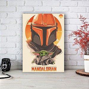 Quadro/Placa Decorativa The Mandalorian