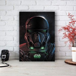 Quadro/Placa Decorativa Star Wars - Rogue One
