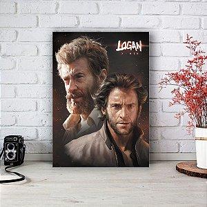 Quadro/Placa Decorativa Logan (Wolverine) - X-men