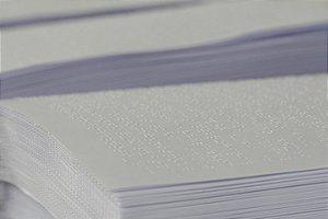 Papel Braille Folha Avulsa