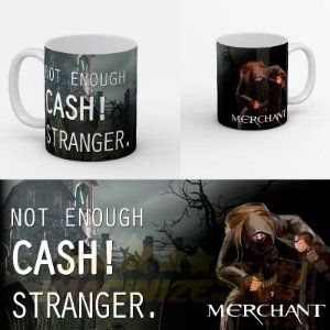 Caneca Personalizada Merchant Not Enough Cash! Stranger