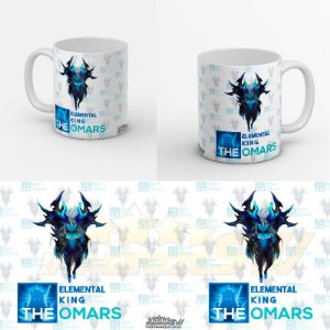 Caneca Summoners War - Theomars Elemental King - Ifrit Water