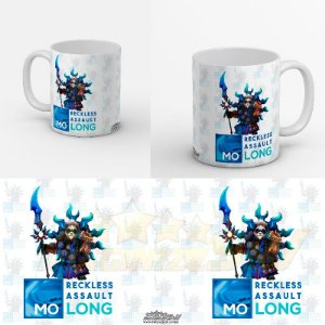 Caneca Summoners War - Mo Long Reckless Assault - Panda