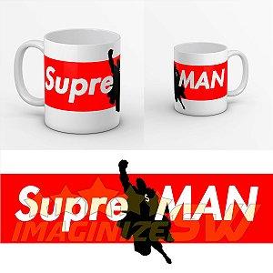 Caneca SupreMAN da Marca Supreme ate os heróis Superman