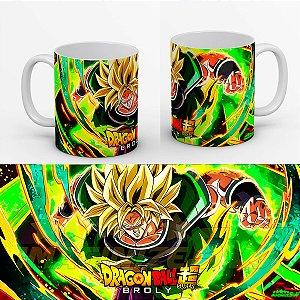 Caneca Dragon Ball Super - Broly Lendario Super Sayajin