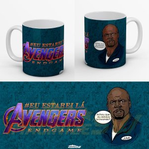 Caneca Vingadores Ultimato Eu Estarei Lá - End Game Julius