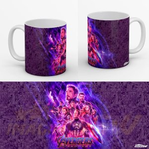 Caneca Vingadores Ultimato A Batalha Final Contra Thanos