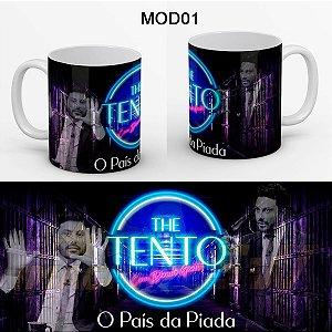 Caneca Protesto Danilo Gentili Preso Detento Brasil é Piada - The Tento
