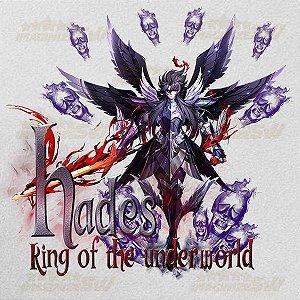 Camiseta Hades o Rei do Submundo Saint Seiya Awakening