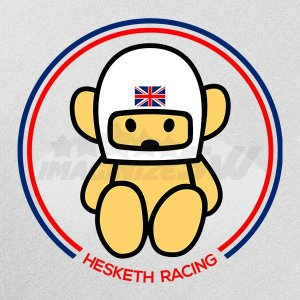 Camiseta Hesketh 308B Mascote urso Formula1 Campeã 1976