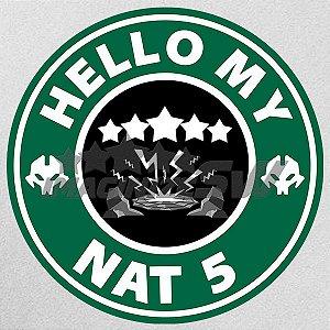 Camiseta Summoners War Hello My Nat5 - Bem vindo meu Nat5 - Summon Lendario