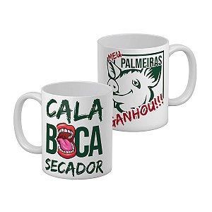 Caneca Palmeiras Cala Boca Secador o Verdao Ganhou Alviverde Porco