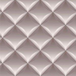 Papel de Parede Geométrico Almofadas 3D