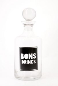 Garrafa BONS DRINKS
