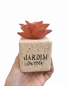 Vasinho bloco JARDIM SECRETO