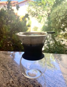 Cafeteira portátil 200 ml