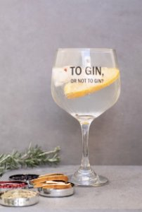 Taça TO GIN OR NOT TO GIN 650 ml