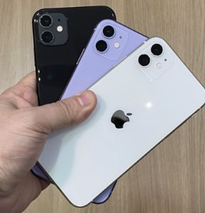 Apple iPhone 11 64GB - Seminovo de Vitrine - Tela Liquid Retina de 6.1""