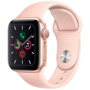 Apple Watch Series 5 40 mm - Seminovo de Vitrine - Gold/Pink Sand - 6 Meses de Garantia.