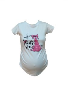 Camiseta Gestante Menina