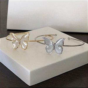 Bracelete Borboleta Cravejada