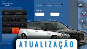 Auto elétrico de veículos  | versão 4.0 | Atualização