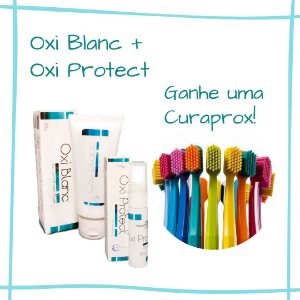 Kit Oxi Blanc + Oxi Protect Oligoquantic - GANHE UMA CURAPROX!!