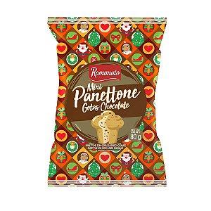 Mini Panettone - Gotas Chocolate (80g)