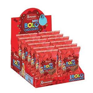 Display Mini Bolo 30g - sabor Chocolate