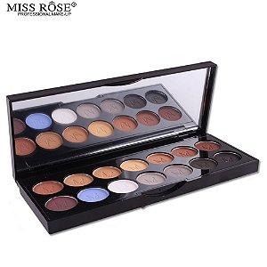Paleta Sombra 14 Cores - Miss Rôse