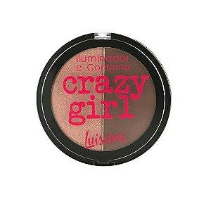 Iluminador e Contorno Crazy Girl