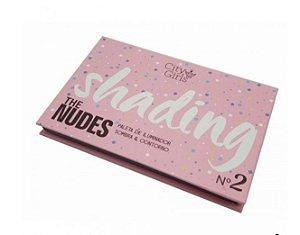 The Nudes Shading - Paleta de sombra, iluminador e contorno