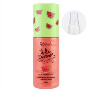 Bruma Hidratante Fixadora Com Hydra Hello Summer Dalla Makeup - Cute Watermelon