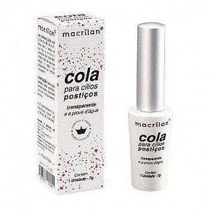 Cola transparente para cílios posticos  - Macrilan