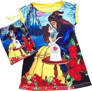 Camisola bela e a fera infantil